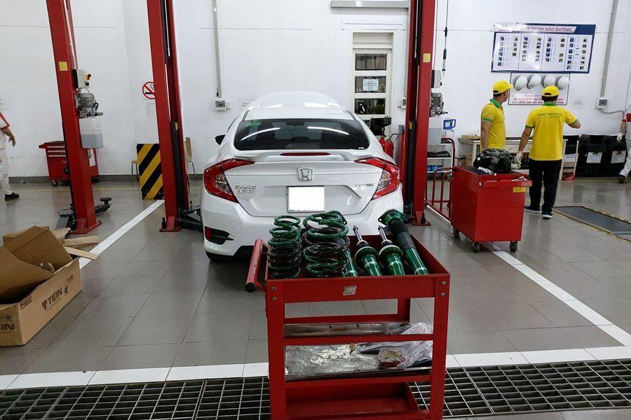 Phuộc xe hơi Honda Civic Street Advance Z - Hình 1