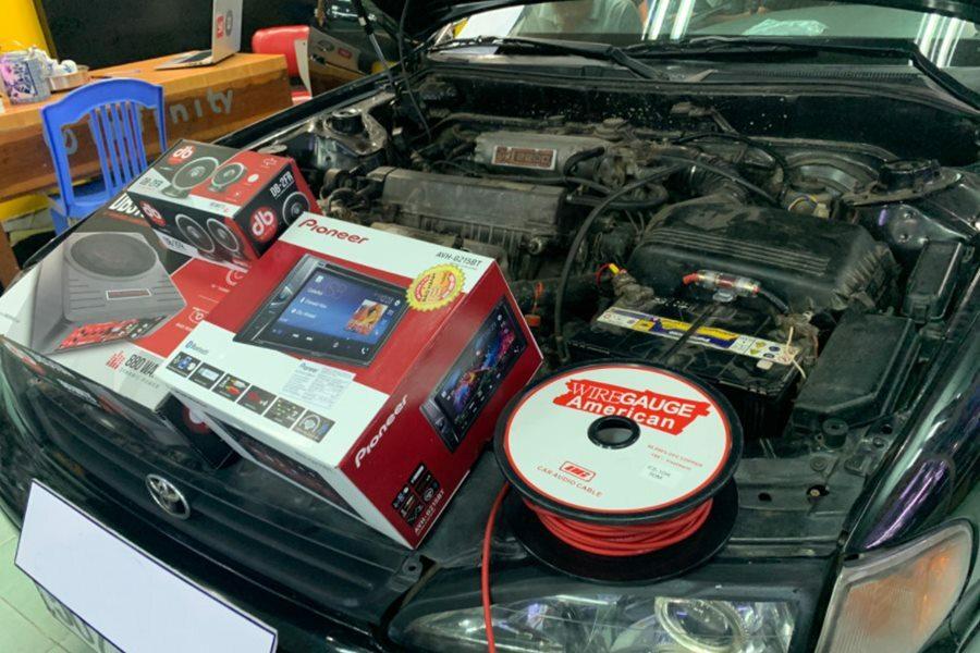 Set 3 loa đến từ Mỹ với thương hiệu DB Drive - Hình 1