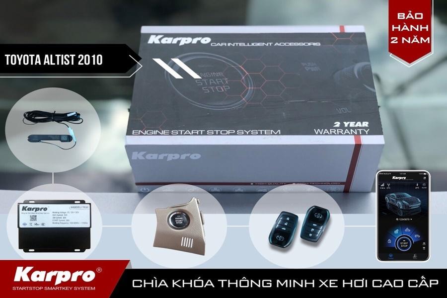 Chìa khóa thông minh Smartkey Karpro theo xe Altis 2007-2012