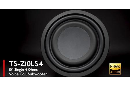 Sub Hơi 10 inch Pioneer TS - Z10LS4 - Z Series chuẩn Hi-Res Audio. Phù hợp cho các dòng xe bán tải