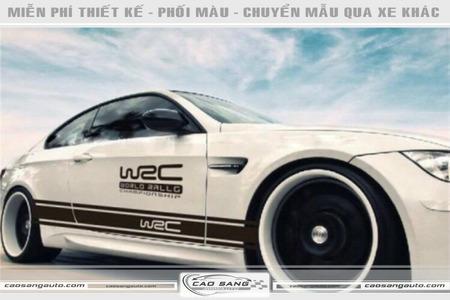 Tem sườn WRC đẹp