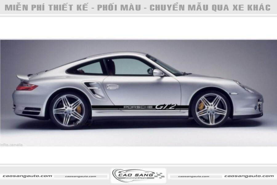 Tem xe Porsche GT2