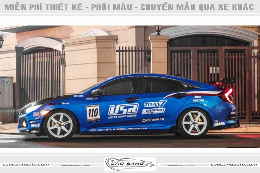 Tem thể thao Honda Civic