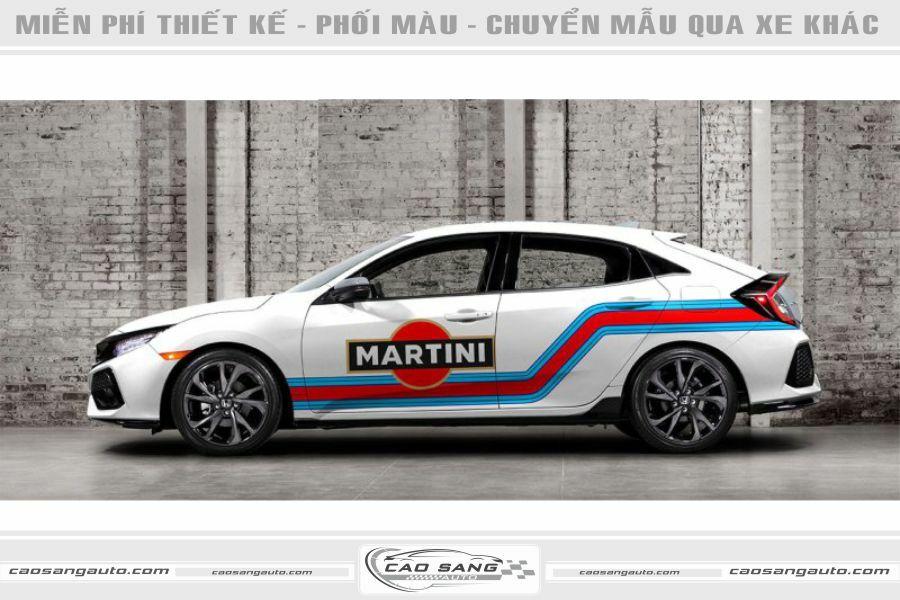 Tem Honda Civic Martini