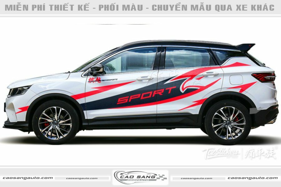 Tem xe SUV thể thao Sport
