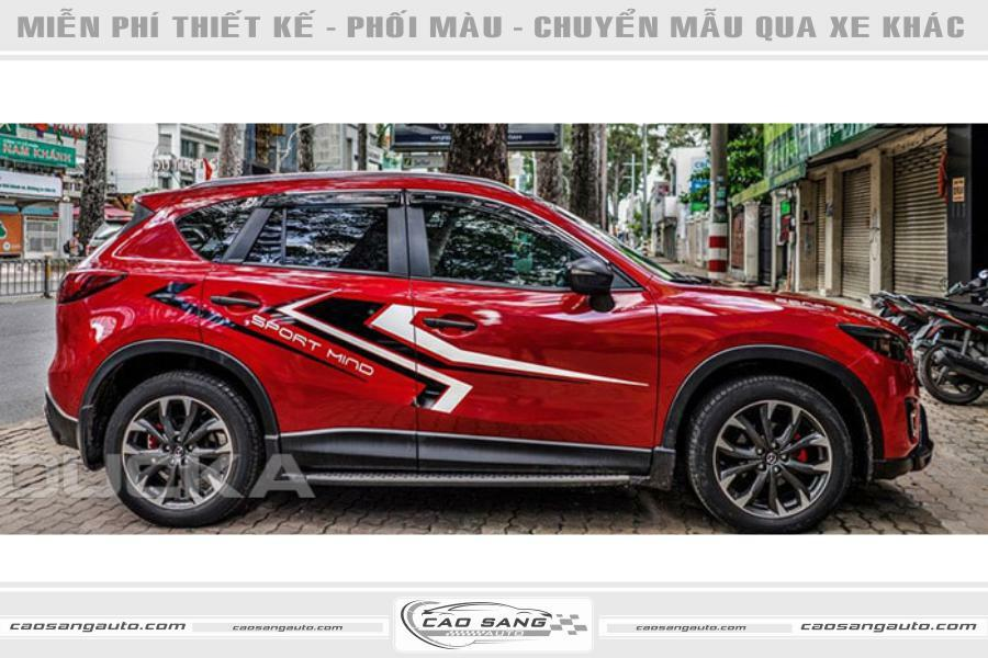 Tem xe Mazda CX5 đẹp