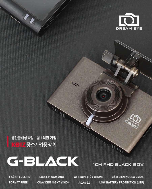 Camera hành trình GNet G-Black dòng camera hành trình tốt nhất