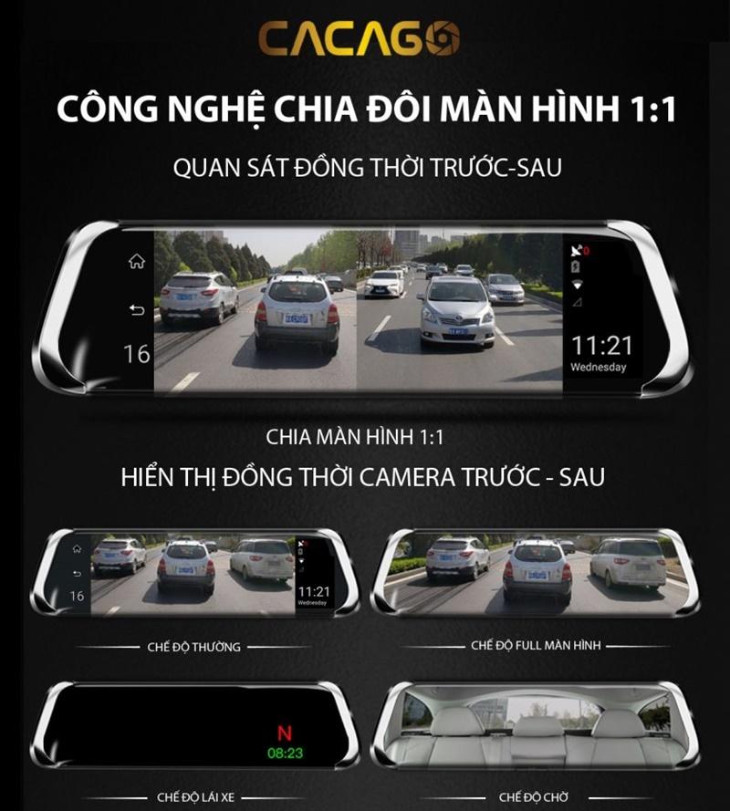 Màn hình android ô tô Cacago
