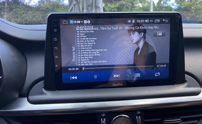 Màn hình DVD Android Carfu