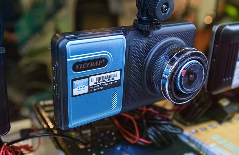 Camera hành trình kết hợp camera lùi hd