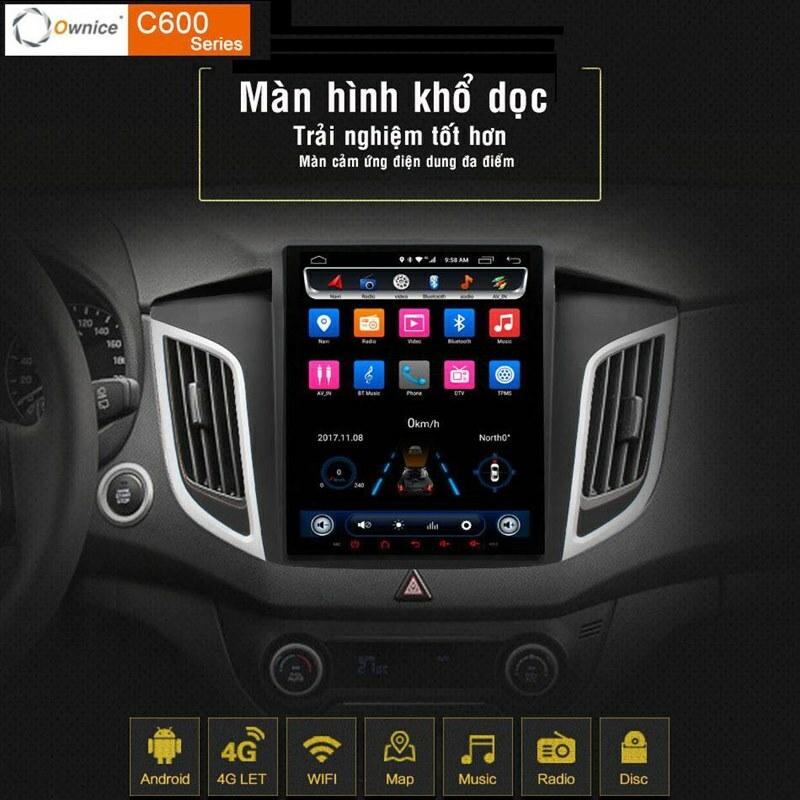 Độ màn hình android Ownice C600