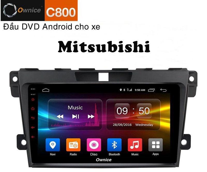 Độ màn hình dvd android Ownice C800 (DSP 6 kênh)