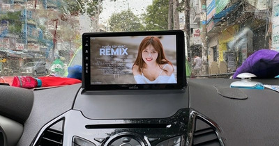 [Tư Vấn] Độ màn hình dvd android phù hợp cho xe Toyota