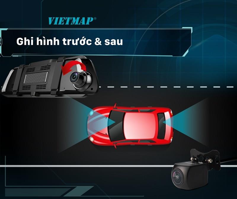 VIETMAP iDVR P2 - Camera Tích Hợp Đa Năng