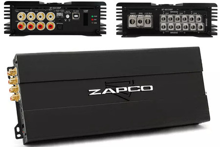 ZAPCO DSP ST-X6 TÍCH HỢP AMPLI 6 KÊNH